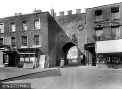 Chepstow, Town Gate 1925