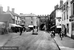 Chepstow, Town Gate 1936