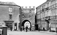 Chepstow, Town Gate c1950