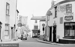 Chepstow, Upper Church Street 1957