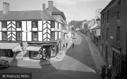 Chepstow, Welsh Street 1957