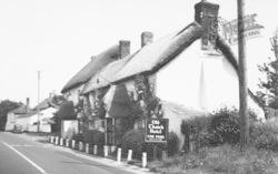 Old Thatch Hotel 1953, Cheriton Bishop