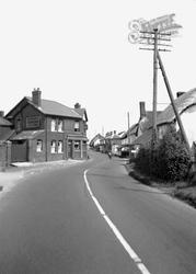 Cheriton Bishop, The Village 1953
