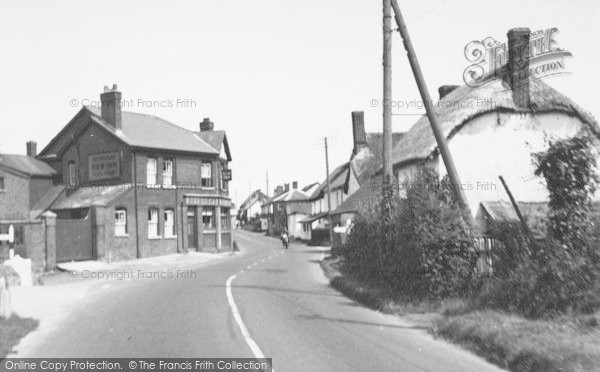 Photo of Cheriton Bishop, The Village 1953