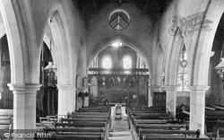 Cheriton, Church Interior 1918
