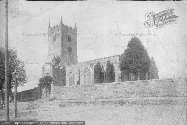 Cheriton Fitzpaine, the Church 1906