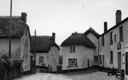 Cheriton Fitzpaine, the Village c1955