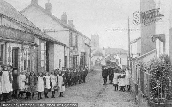 Cheriton Fitzpaine, Village 1906