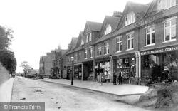 Cheriton, High Street 1903