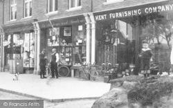 Cheriton, High Street Shops 1903