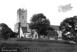 Cheriton, St Martin's Church 1902