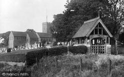 Cheriton, St Martin's Church 1918