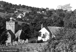 The Village And St Cadoc's Church 1937, Cheriton