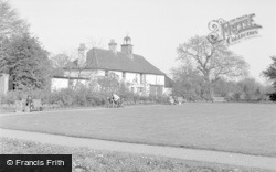 Chertsey, Beomonds Cottage 1954