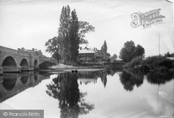 Chertsey, Bridge Hotel 1890