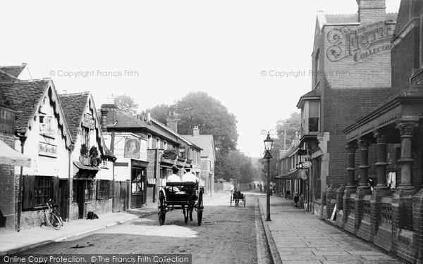 Chertsey, Guildford Street 1908