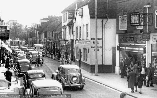 Chertsey, Guildford Street c1955