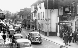 Chertsey, Guildford Street 1954
