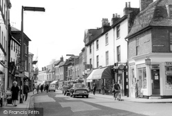 Chertsey, Guildford Street 1962