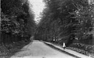 Chertsey, Ottershaw Road 1906