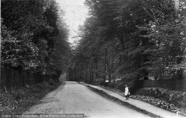 Photo of Chertsey, Ottershaw Road 1906