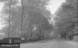 Chertsey, Ottershaw Road 1954