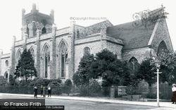 Chertsey, St Peter's Church 1904