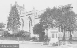 Chertsey, St Peter's Church 1923