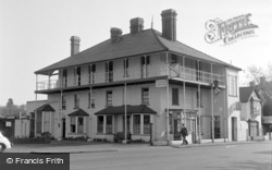 Chertsey, The Bridge Hotel 1954