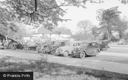 Chertsey, The Car Park 1954