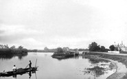 Chertsey, the Lock 1890