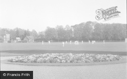 Chertsey, The Recreation Ground 1954