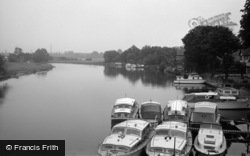 Chertsey, The River 1961
