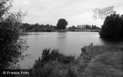 Chertsey, The Thames 1965