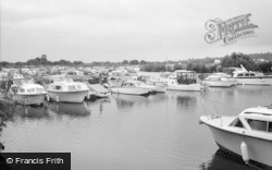 Chertsey, The Yacht Basin 1965