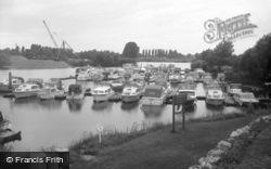 Chertsey, The Yacht Basin 1965