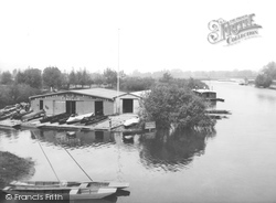 Chertsey, View From Bridge 1890