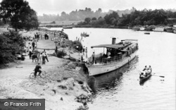 Chertsey, View From The Bridge c.1950