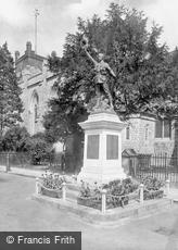 Chertsey, War Memorial 1923
