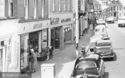 Chertsey, Windsor Street 1962