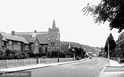 Chesham, Berkhamstead Road, Newtown c.1955
