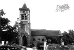 Chesham Bois, St Leonard's Church 1906