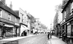 Chesham, High Street 1897