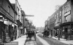 Chesham, High Street 1903