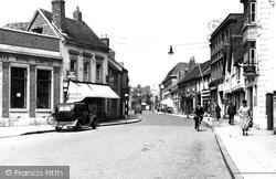 Chesham, High Street c.1950
