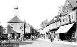 Chesham, Market Square 1897