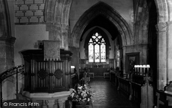 Chesham, Pulpit And Chancel, St Mary's Church c.1960