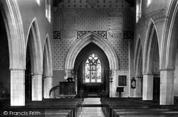 Chesham, St Mary's Church, The Interior 1897