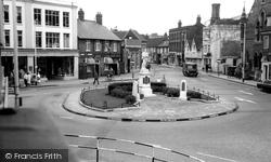 Chesham, Town Square c.1965