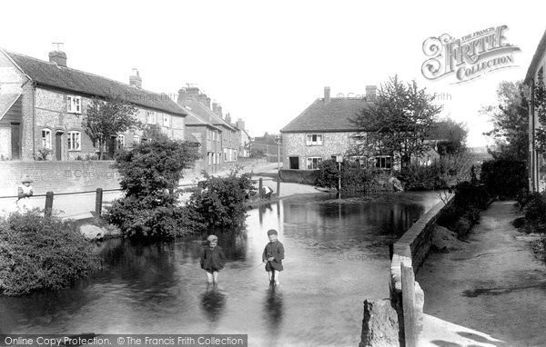 Chesham,Waterside, from Lord's Mill 1906,Buckinghamshire